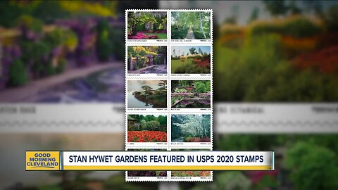 Stan Hywet Gardens featured in USPS 2020 stamps