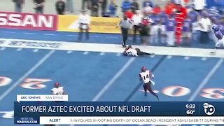 Aztecs Darren Hall excited about nfl draft