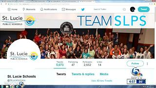 St. Lucie School District Twitter account compromised, district says - Video