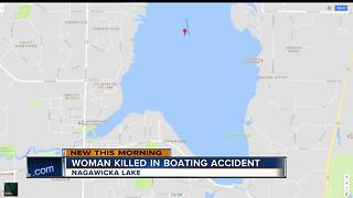 Police: Drunken boating accident kills innocent woman - Video