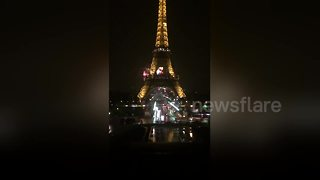 Netflix show's fireworks display worries Parisians - Video