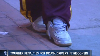 Wisconsin's new drunken driving penalties begin January 1 - Video