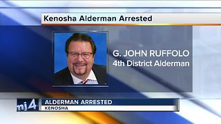 Kenosha Alderman John Ruffolo arrested after raid - Video