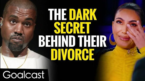 The Shocking Truth Why Kim Kardashian Is Leaving Kanye West | Life Stories By Goalcast