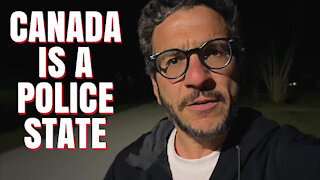 Canada the Police State & International Laughing Stock - viva on the street