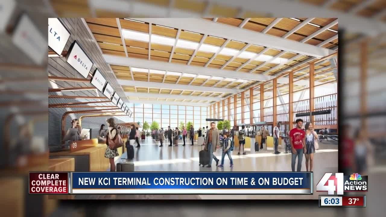 New KCI terminal on budget, ahead of schedule