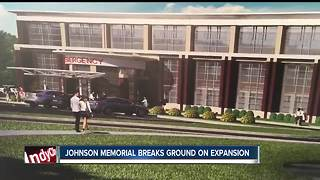 Johnson Memorial breaks ground on expansion - Video
