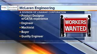 McLaren Engineering hiring multiple positions - Video