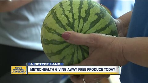 MetroHealth giving away free produce today