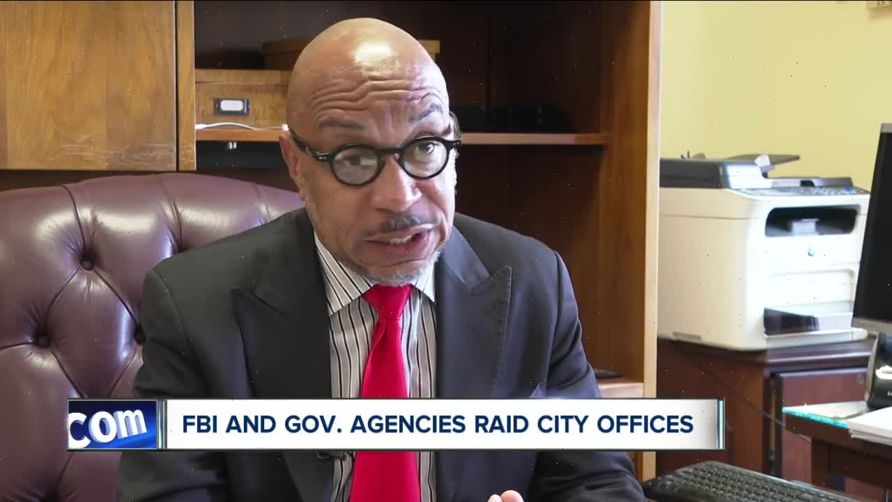 FBI and government agencies raid city offices