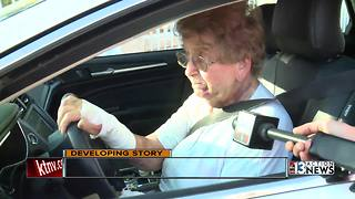 Elderly woman relives violent carjacking - Video