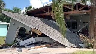 Homeowner survives, driver dies after car plows into St. Lucie County home