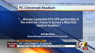 FC Cincinnati stadium - Video