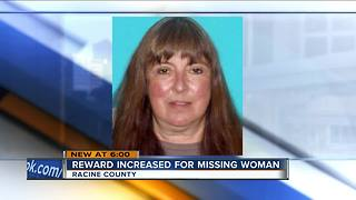 $50K reward offered in missing Racine County woman case - Video