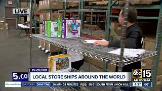 Local business fulfilling international orders for holiday shoppers - Video