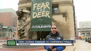 Fans looking froward to conference finals