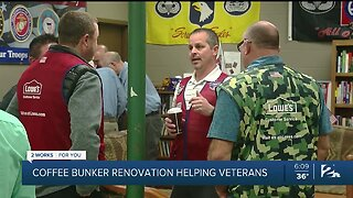 Coffee Bunker Renovation Helping Veterans