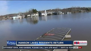 Hanson Lake Residents Return