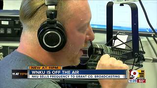 Tearful goodbyes at WNKU - Video