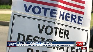 Super Tuesday hits Kern County, voters headed to the polls