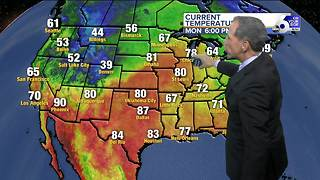 A Chilly Valley Breeze Will Stick Around - Video