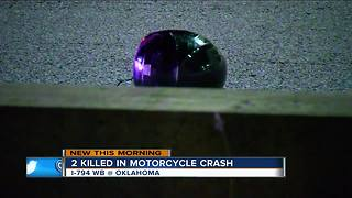 2 killed in motorcycle crash on I-794 Wednesday night - Video