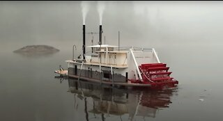 Radio Control Model of the Lone Star Steamboat: Foggy Morning