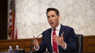 Sen. Josh Hawley Lands Book Deal After Publisher Drops Him