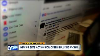 Cyber bullying victim takes case to police