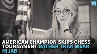 Iran Demands US Champion Wear Hijab At World Competition, LOOK How She Instantly Responds