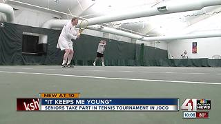 Tennis tournament in Overland Park doesn't show age - Video