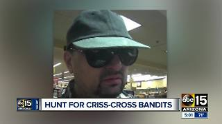 FBI asking for public's help locating 'The Criss-Cross Bandits' - Video