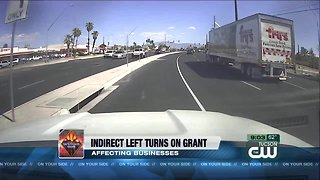 Operation Safe Roads: Indirect left turns on Grant Road affecting businesses