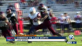Oxbridge Academy Rolls Over Lake Worth - Video