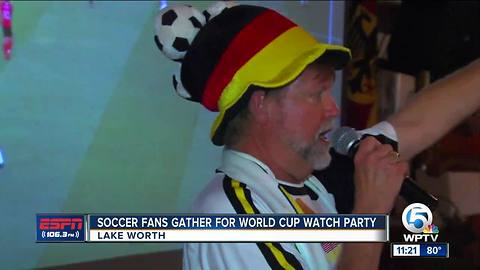 World Cup watch party at German American Club of the Palm Beaches