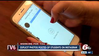 Revealing photos of Southport Middle School students displayed on Instagram page - Video