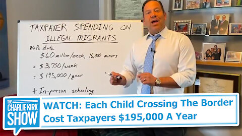 WATCH: Each Child Crossing The Border Cost Taxpayers $195,000 A Year