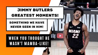 Jimmy Butler's Greatest Moments!