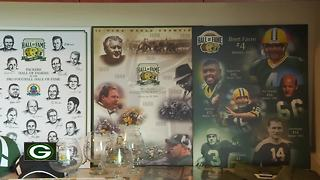 Packers Hall of Fame tent sale - Video