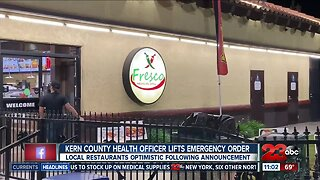 Local emergency order lifted, county official gives further insight as restaurant owners weigh in