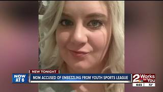 Woman accused of embezzling thousands from little league arrested - Video