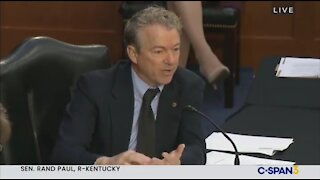 Rand Paul RIPS Fauci Over Masks