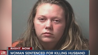 Bloomington woman sentenced for killing husband