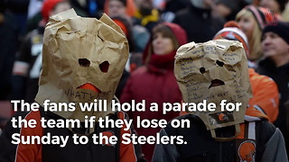 This Is What Will Happen If The Browns Lose On Sunday - Video