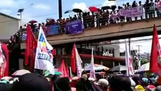 Protesters Pack Metro Manila Streets for Labor Day Demonstrations - Video