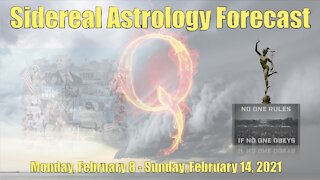 Sidereal Astrology Forecast: February 8-14, 2021