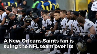 Saints Season Ticket Holder Stayed Home Due To Team's Anthem Protests, Now He's Out For Revenge - Video