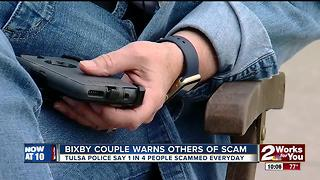 Bixby couple warns others of scam - Video