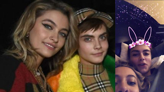 Paris Jackson SNUGGLES Up WIth Cara Delevingne In Bed!: Are They Dating?