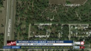Woman identified in North Fort Myers homicide - Video